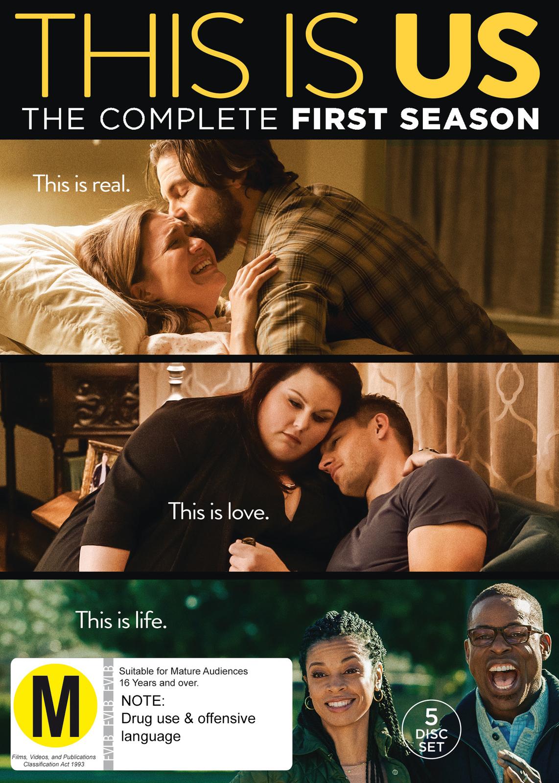 This Is Us - Season 1 on DVD image