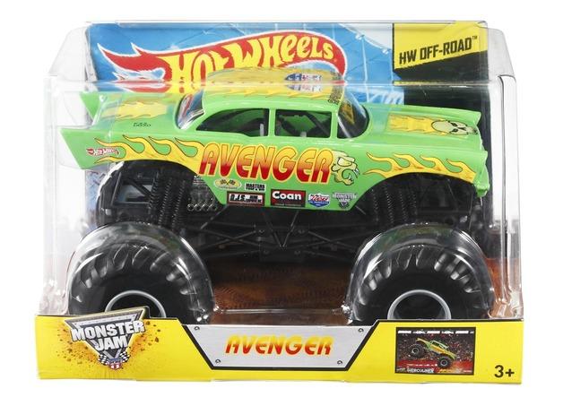 Hot Wheels Monster Jam: 1:24 Scale Diecast Vehicle - Avenger