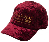 Harry Potter I Solemnly Swear Velvet Adjustable Cap