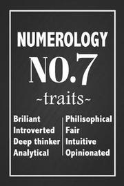 Numerology No. 7 Traits by Dream Journals