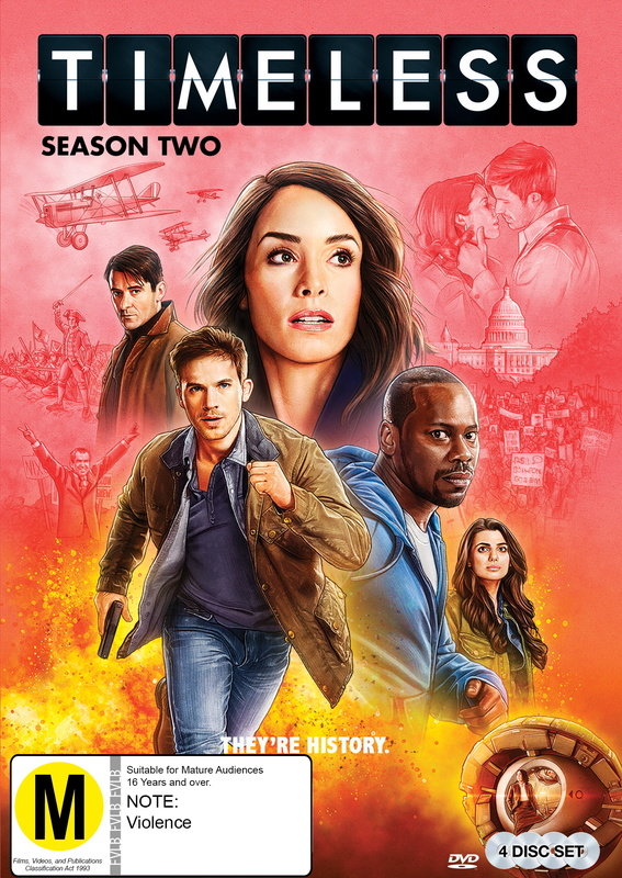 Timeless - Season 2 on DVD