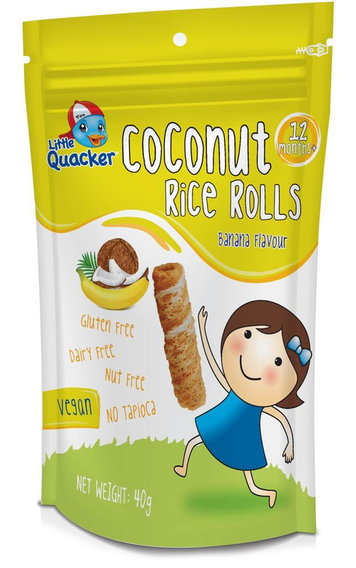 Little Quacker: Coconut Rice Rolls - Banana (40g)