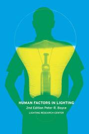 Human Factors in Lighting by Peter Robert Boyce image