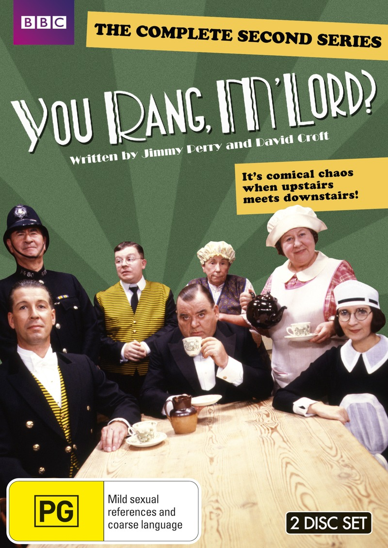 You Rang M'lord? - The Complete Second Series on DVD image