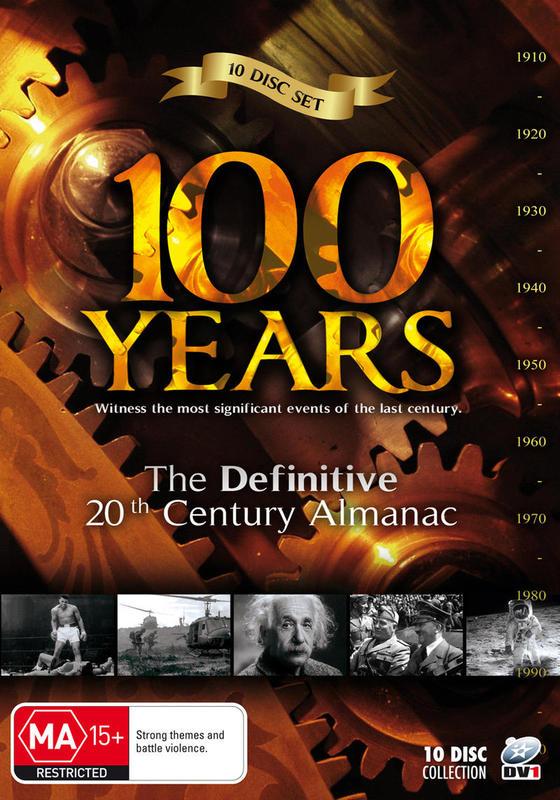 100 Years - The Definitive 20th Century Almanac Box Set on DVD