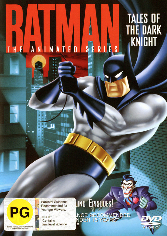 Batman - The Animated Series: Tales Of The Dark Knight on DVD