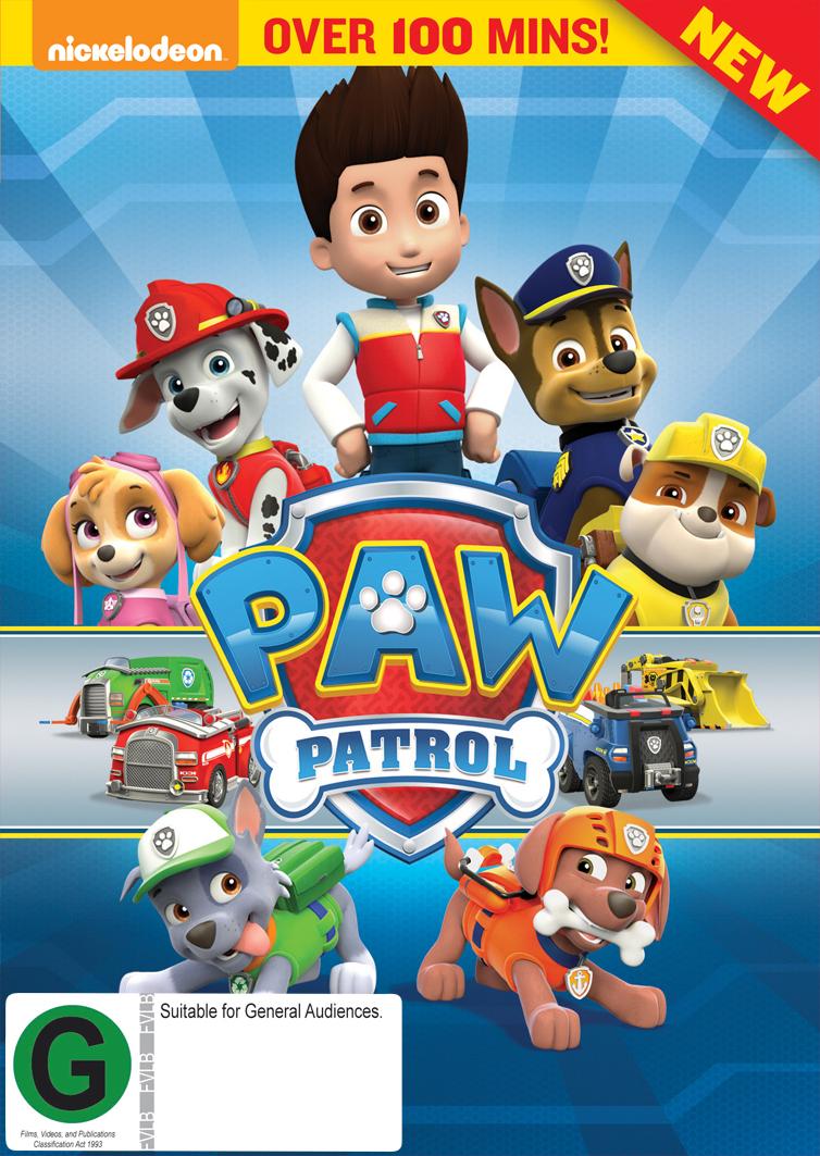 PAW Patrol on DVD image