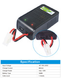 EV-PEAK MH-8S AC 12W 800MA NIMH Battery Charger
