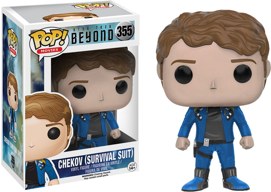 Star Trek: Beyond - Chekov (Survival Suit) Pop! Vinyl Figure image