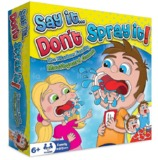 Say it don't Spray it! (Kids Edition)
