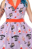 Sourpuss Circus Cat June Dress (Medium)