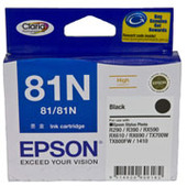 Epson Claria Ink Cartridge 81N (Black)