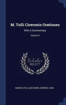 M. Tulli Ciceronis Orationes by Marcus Tullius Cicero image