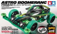 Tamiya Mini 4WD JR Astro-Boomerang Premium - Super II Chassis Black Special