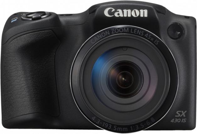 Canon Powershot SX430IS Black Digital Camera