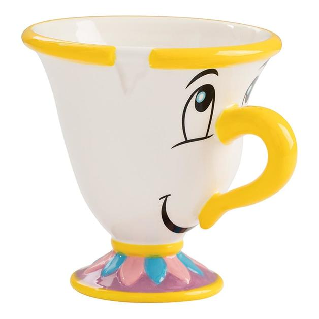 Beauty and the Beast: Chip - Sculpted Ceramic Tea Cup