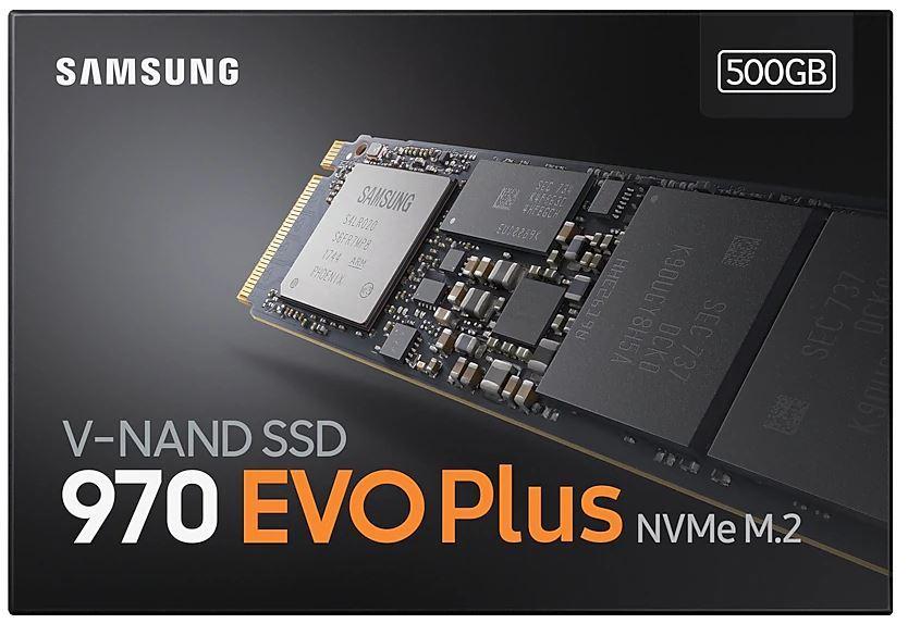 500GB Samsung 970 EVO Plus NVMe M.2 SSD image