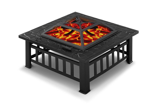 Cookmaster: 2-in-1 Outdoor Fire Pit Grill