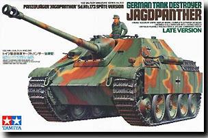 Tamiya German Jagdpanther Tank Destoyer Late Version 1/35 Model Kit