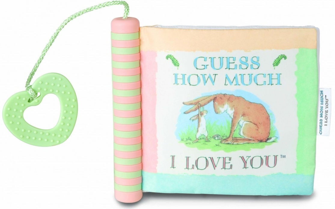 Guess How Much I Love You Soft Book with Teether image