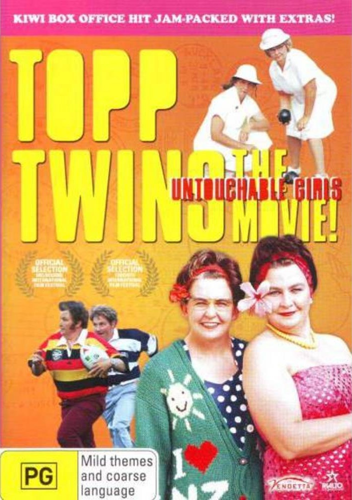 Topp Twins: The Movie Untouchable Girls DVD image