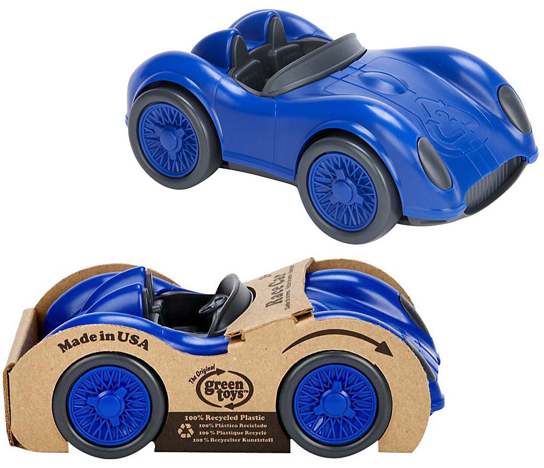 Green Toys Race Car (Blue) image