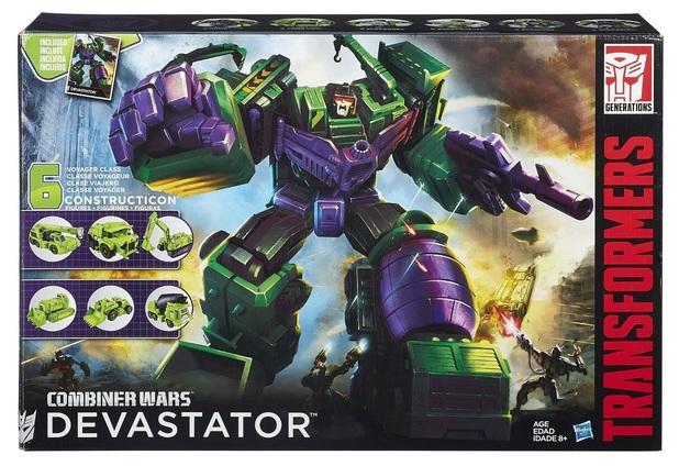 Transformers Generations: Devastator Figure Set
