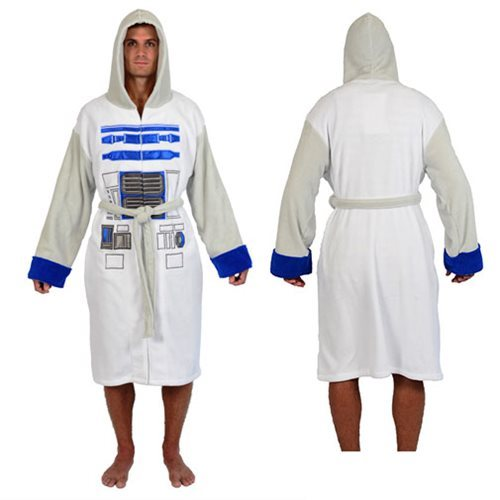 Star Wars: R2-D2 - Fleece Bathrobe image