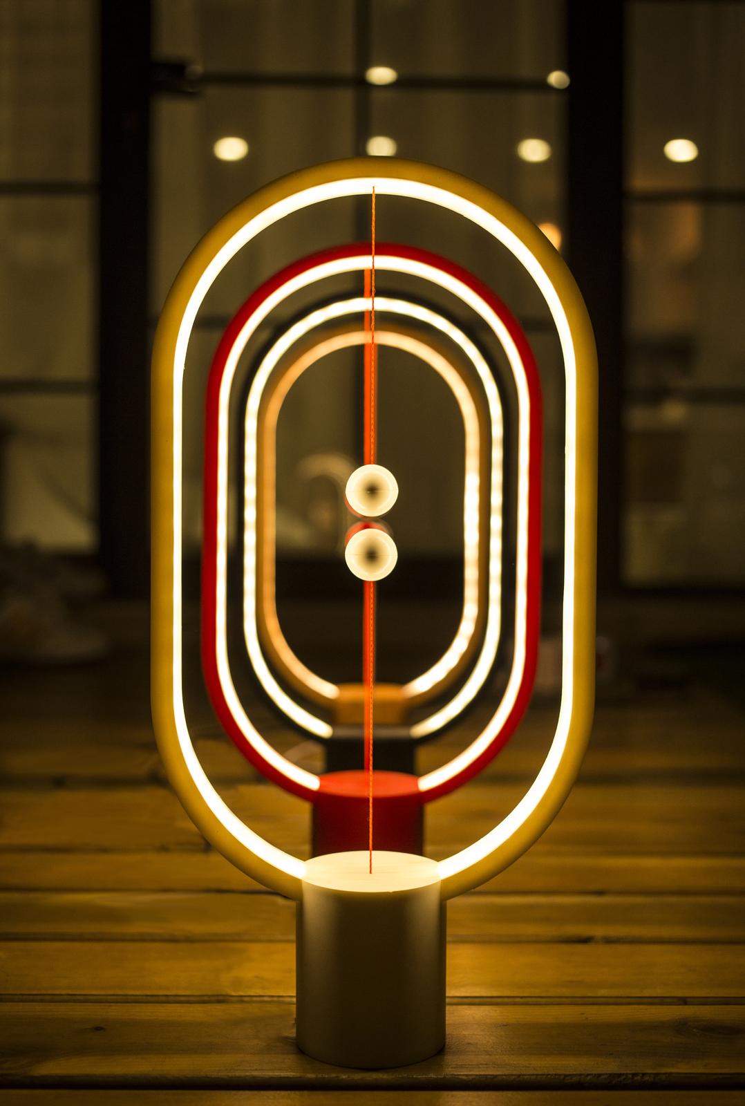 Allocacoc: Heng Balance Lamp - Ellipse (Wood) image