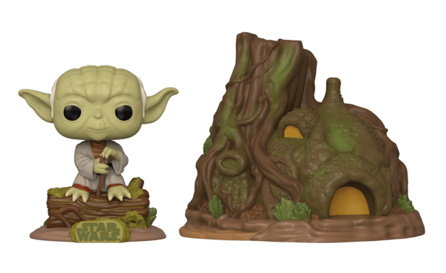 Star Wars: Empire Strikes Back - Yoda & Hut - Pop! Town