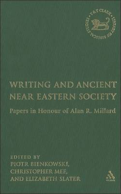 Writing and Ancient Near East Society by Elizabeth A. Slater image