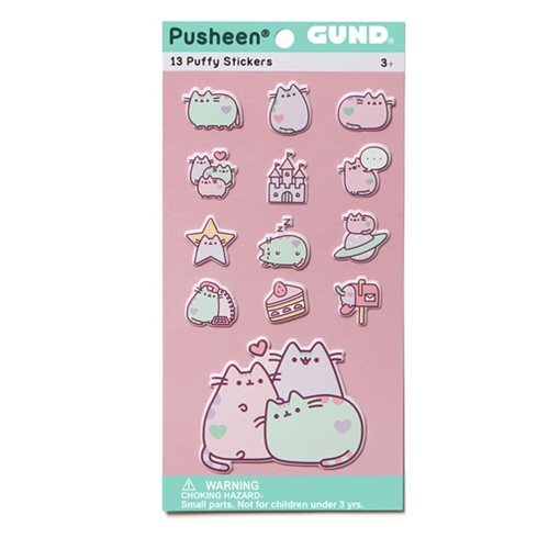 Pusheen the Cat - Pastel Pusheen Sticker Set