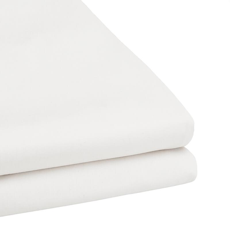 Bambury Tru Fit Fitted Sheet Queen (White) image