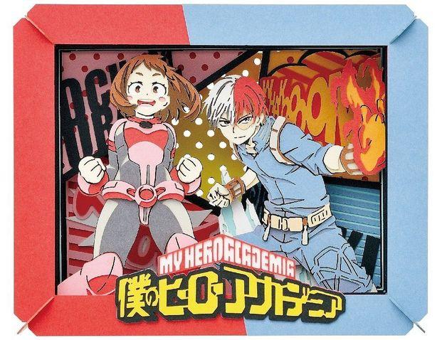 My Hero Academia: Paper Theater: Ochako Uraraka & Shoto Todoroki