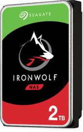"""2TB Seagate IronWolf 3.5"""" 5900RPM SATA NAS HDD"""