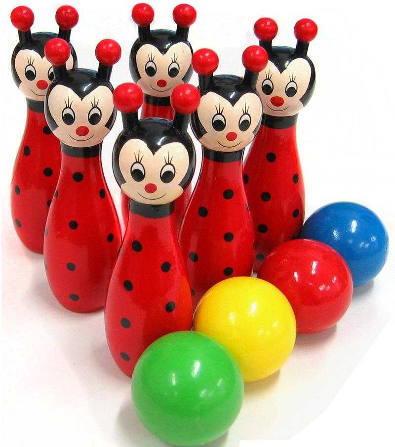 Fun Factory: Bowling Animals Ladybird image