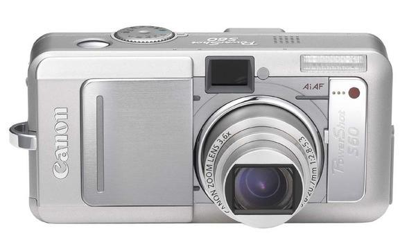 Canon Digital Camera Powershot 5.0MP S60