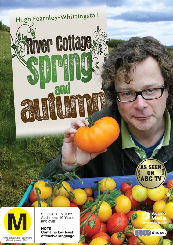 River Cottage: Spring And Autumn (4 Disc Set) on DVD