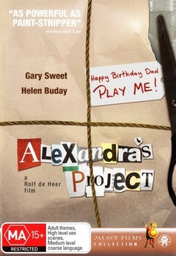Alexandra's Project on DVD image