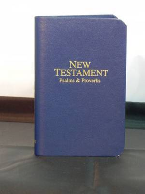 Economy Pocket New Testament with Psalms and Proverbs by Oxford Bible image