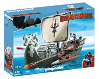Playmobil: How to Train Your Dragon - Drago's Ship Playset (9244)