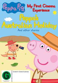Peppa Pig: My First Cinema Experience: Peppa's Australian Holiday on DVD