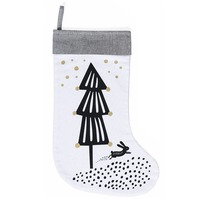 Wee Gallery: Organic Holiday Stocking - Christmas Tree