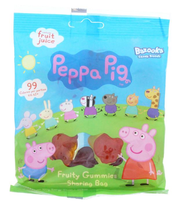 Peppa Pig: Fruity Gummies (120g) 12pk