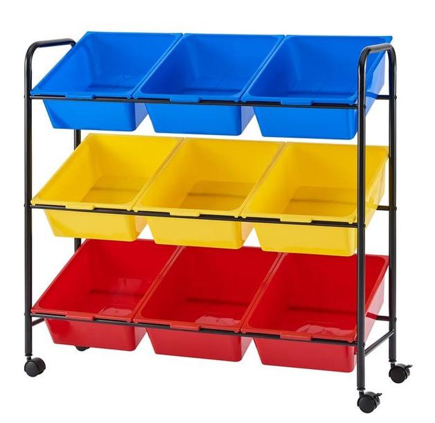Ovela: Multi Coloured Kids Storage Boxes