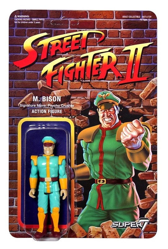 "Street Fighter II: M. Bison - 3.75"" CE Retro Action Figure"