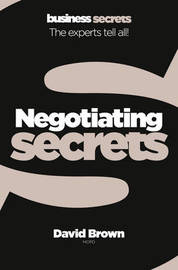 Negotiating by David Brown