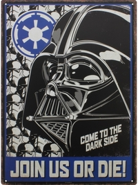 Star Wars: Metal Sign - Empire