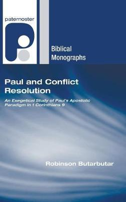 Paul and Conflict Resolution by Robinson Butarbutar