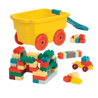 Battat: Locblock Wagon - Playset